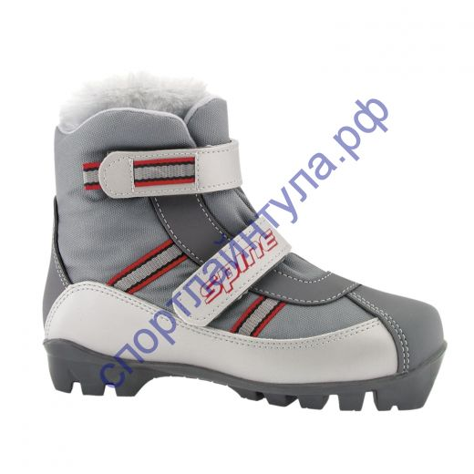 Лыжные ботинки NNN BABY 101 серые