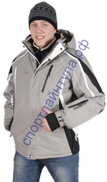Куртка горнолыжная мужская MAXX 201460 серая