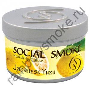 Social Smoke 250 гр - Japanese Yuzu (Японский Юзу)