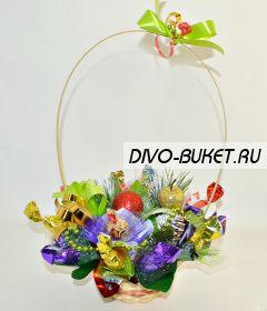 """Новогодний подарок из конфет №616 """"Аншлаг"""""""