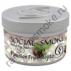 Social Smoke 250 гр - Passion Fruit Mojito (Маракуйя и мохито)
