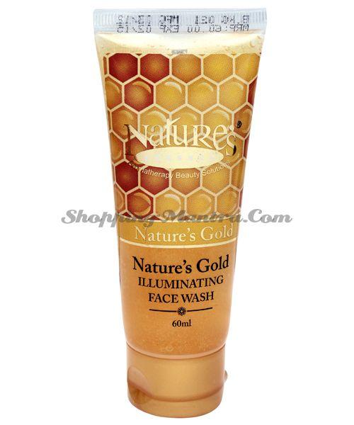 Средство для умывания с золотом / Nature's Essence Gold Illuminating Face Wash
