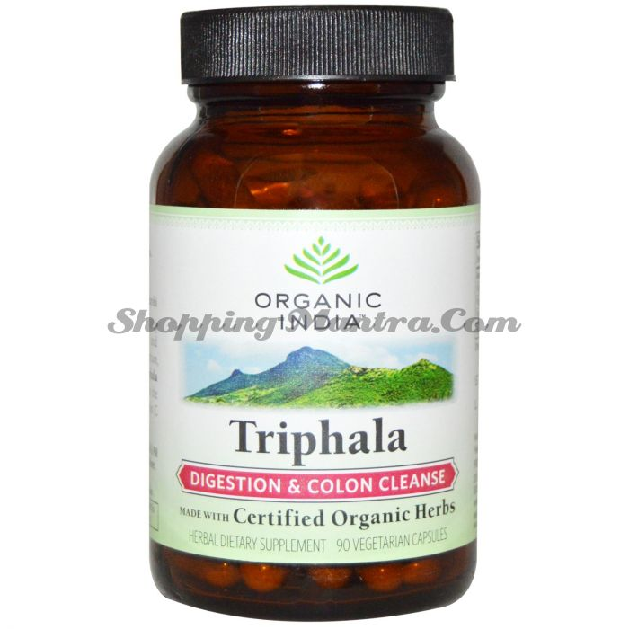 Трифала в капсулах Органик Индия / Organic India Triphala