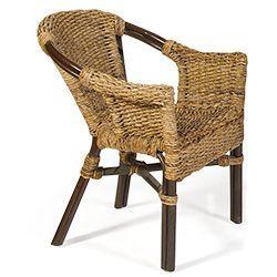 Кресло из натурального ротанга Браунис