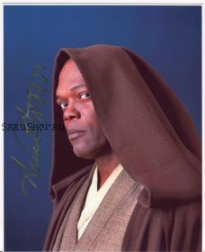 Автограф: Сэмюэл Л. Джексон. Звёздные войны. (Star Wars)