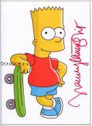 Автограф: Нэнси Картрайт. Симпсоны (The Simpsons)