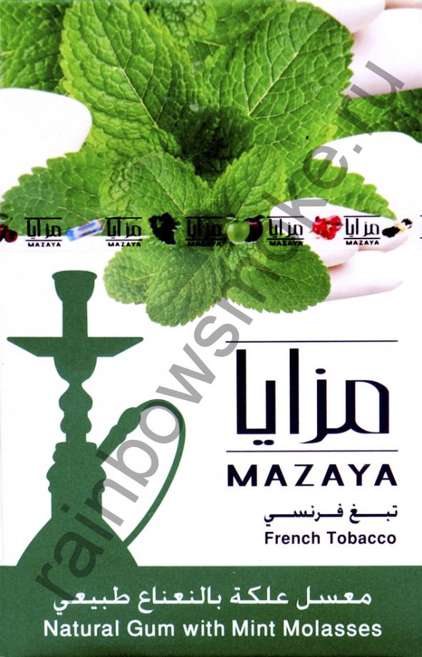 Mazaya 50 гр - Gum with Mint (Жвачка с Мятой)