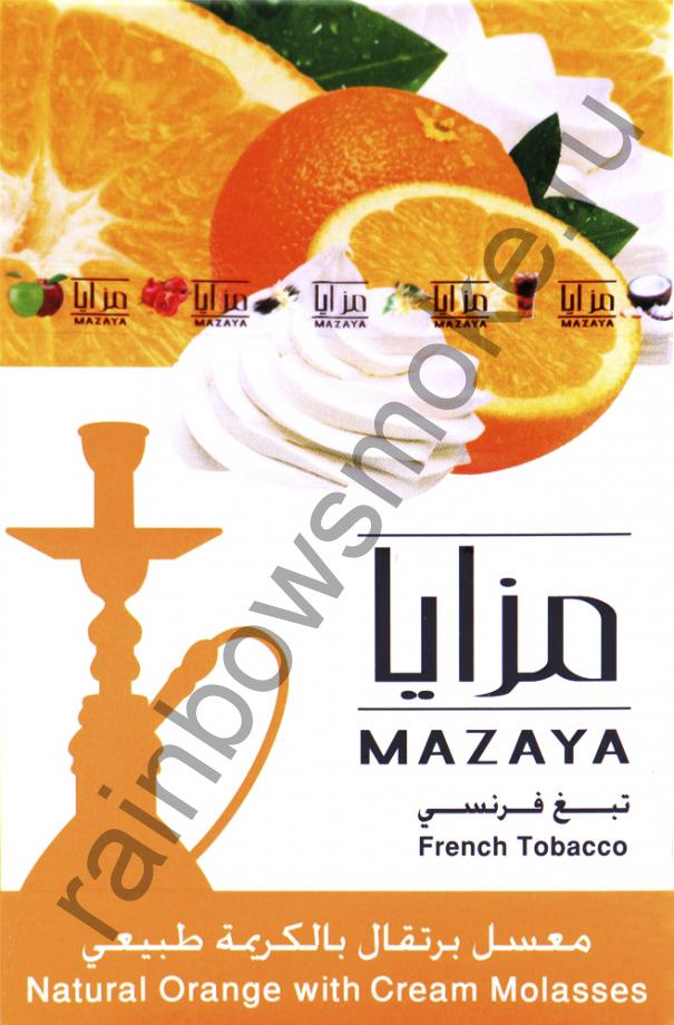 Mazaya 50 гр - Orange Cream (Апельсин со Сливками)