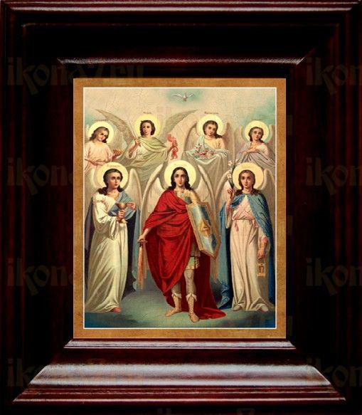Собор святых Архангелов (21х24), простой киот