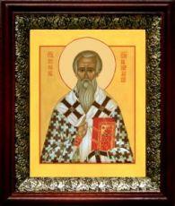 Стефан Пермский (19х22), темный киот