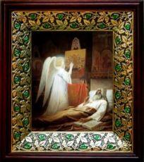 Алипий Печерский (21х24), киот со стразами