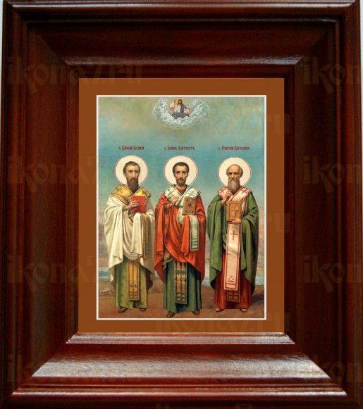 Собор трех святителей (21х24), простой киот