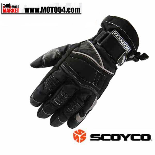 Мотоперчатки Scoyco (утепленные, непромокаемые)