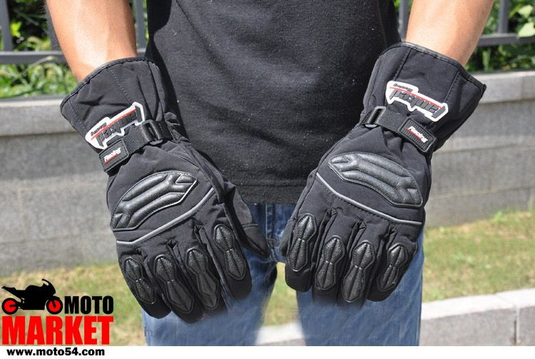 Мотоперчатки Tanked (утепленные)