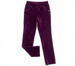 брюки бархатные для девочки