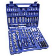 """KT172 Набор инструментов 1/2"""", 3/8"""", 1/4"""" 4-32мм, 6гр. KINGTUL, 172 предмета."""