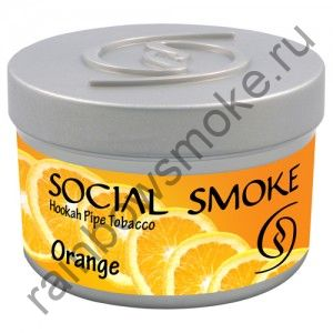 Social Smoke 250 гр - Orange (Апельсин)