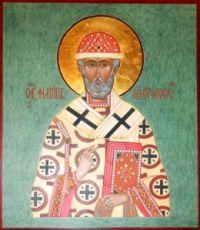Икона Филипп Московский (рукописная)