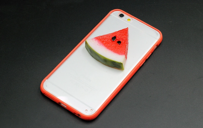 Чехол для Iphone 6/6s с арбузом 3d
