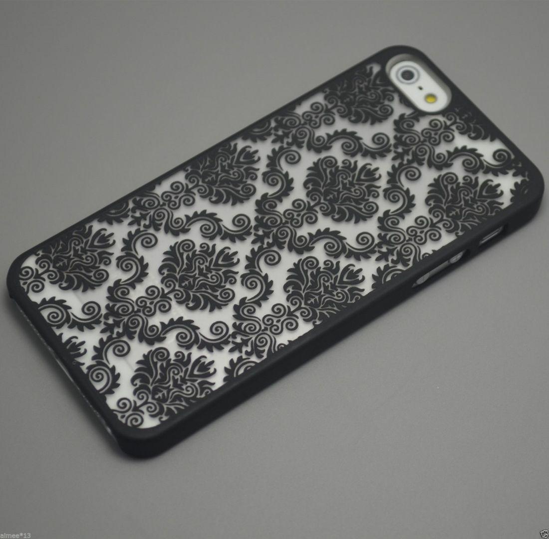 Чехол Luoya с узором для Iphone 7/8 (черный)