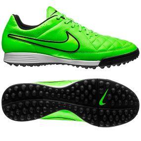 Шиповки Nike Tiempo Genio TF салатовые