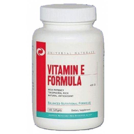UNIVERSAL - Vitamin E Formula (400 IU) (100 капс)