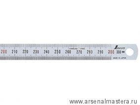 Стальная гибкая линейка премиум сегмента Shinwa 30 см М00011422