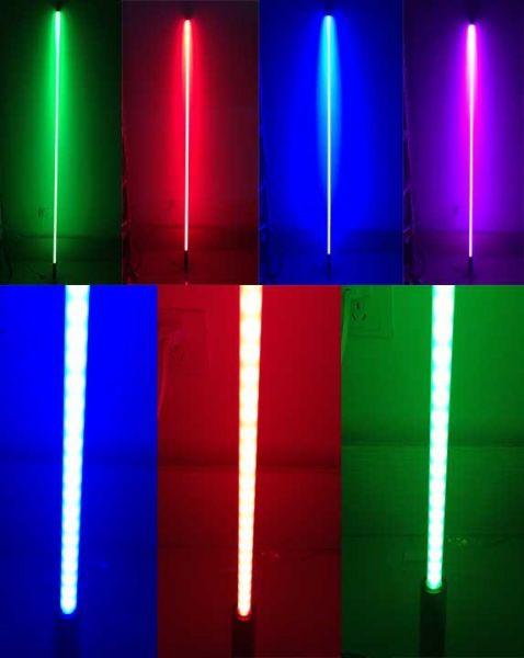 Светодиодная оптическая сигнальная трубка с флажком с Д/У RGB