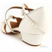 белые туфли для танцев для девочки