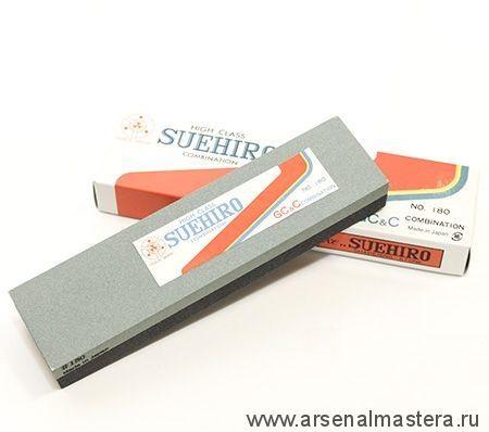 Японский комбинированный водный камень 100 / 180 206x53x27 мм Suehiro М00010968