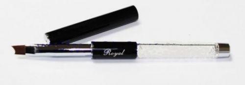 Кисть Royal для геля скошенная №8