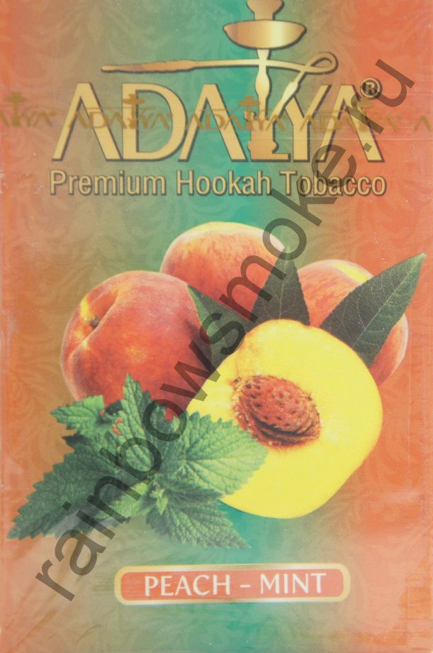 Adalya 50 гр - Peach-Mint (Персик с Мятой)