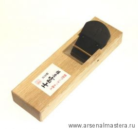 Рубанок японский из белого дуба Miki Tool 210 / 50 мм, составной нож М00010354