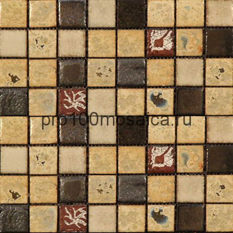 Vint-18(3). Мозаика 33x33x10, серия VINTAGE,  размер, мм: 280*280 (GAUDI)