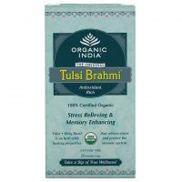 Чай Тулси Брами Органик Индия / Organic India Tulsi Brahmi Tea