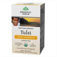 Чай Тулси Мед и Ромашка Органик Индия / Organic India Tulsi Honey Chamomile