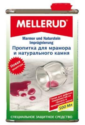 Немецкая пропитка для мрамора и натурального камня Меллеруд (Mellerud)