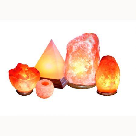 Светильники из гималайской соли