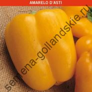 "Перец сладкий ""ЖЁЛТЫЙ АСТИ"" (Amarelo d'Asti) 10 семян"