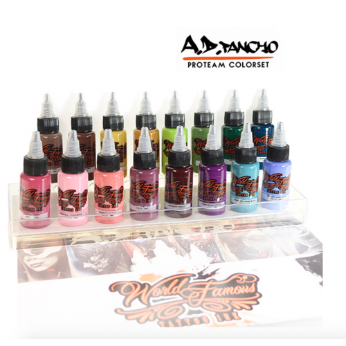 World Famous A.D. PANCHO PROTEAM COLORSET