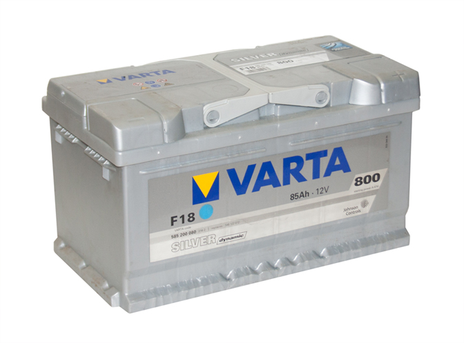 Автомобильный аккумулятор АКБ VARTA (ВАРТА) Silver Dynamic 585 200 080 F18 85Ач ОП
