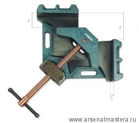 Тиски (зажим) силовые для угловых соединений (Струбцина угловая для сварки) Piher A-10 М00006354