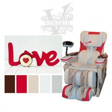 Массажное кресло «Самая большая любовь» Takasima VENERDI FUTURO