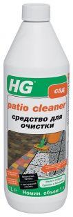 HG Средство для очистки брусчатки, бетона и тротуарной плитки 1 л