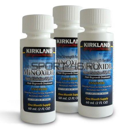 Kirkland Миноксидил 5% - Курс на 3 месяца