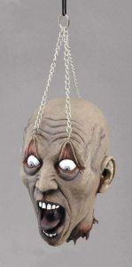 Мертвая голова на цепях