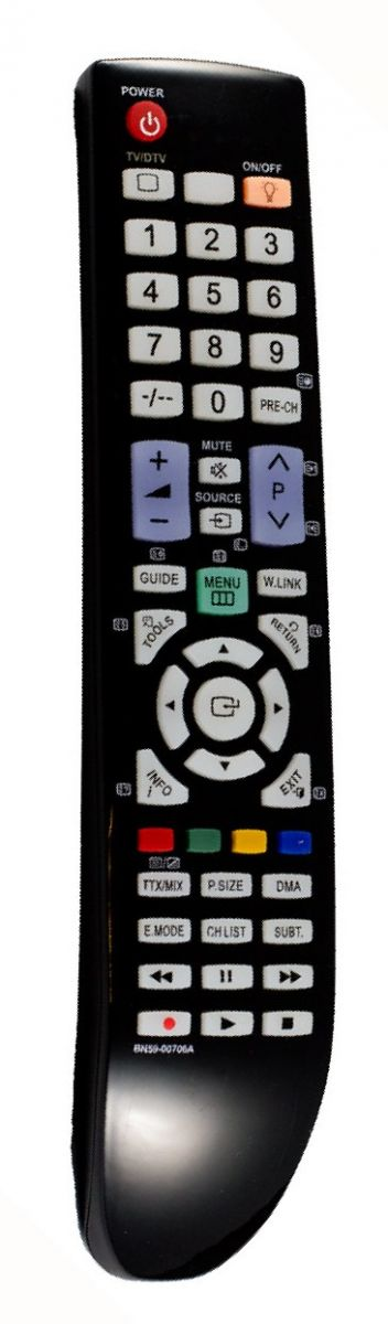 Пульт для Samsung BN59-00706A (TV) (LE-32A656A1F, LE-37A615A3F, LE-37A656A1F, LE-37A686M1F, LE-40A615A3F, LE-40A656A1F, LE-46A656A1F, LE-52A656A1F, LE37A686M1FXRU, PS-50A656T1F)