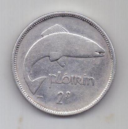 1 флорин 1931 г. редкий год. Ирландия. Великобритания