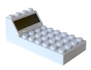 """Калькулятор """"Конструктор"""" белый"""