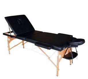 Массажный стол DFC Nirvana Relax Pro черный (Black)
